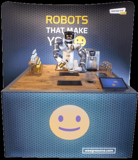 Humanoid-Robot-Bartender
